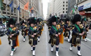 NYC St Patrick's Day Parade route and live stream time