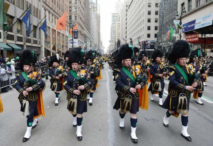 NYC St Patrick's Day Parade live stream time