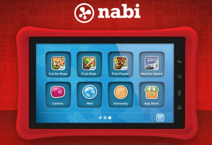 Nabi 2 time controls app and good morning song