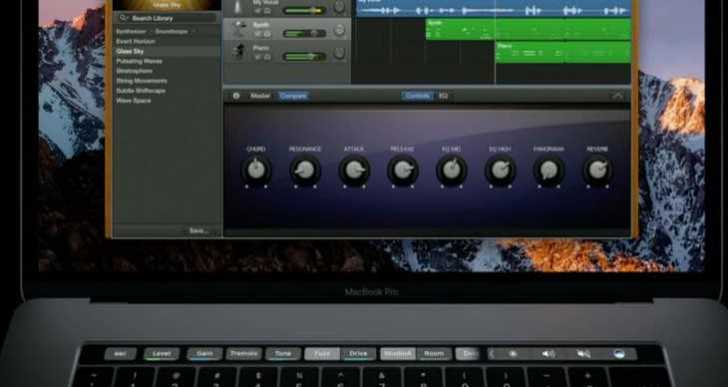Nailing Logic Pro X MacBook Pro OLED Touch Bar support release