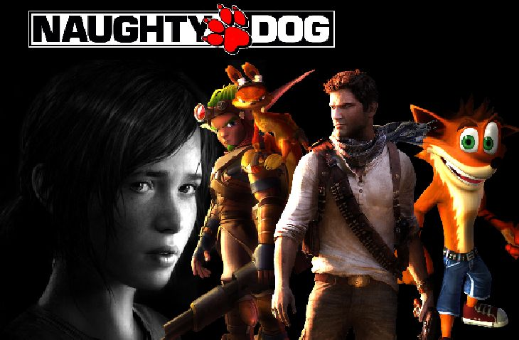 Naughty-Dog-Games