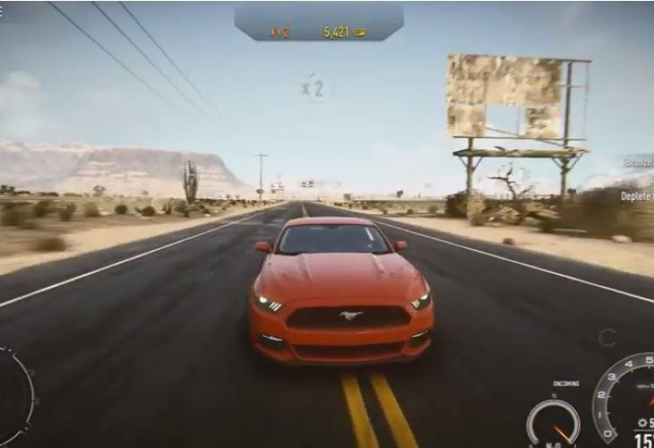 Need for Speed- Rivals with free 2015 Ford Mustang