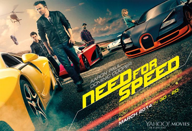 Need for Speed movie success with $63.4 million taken already