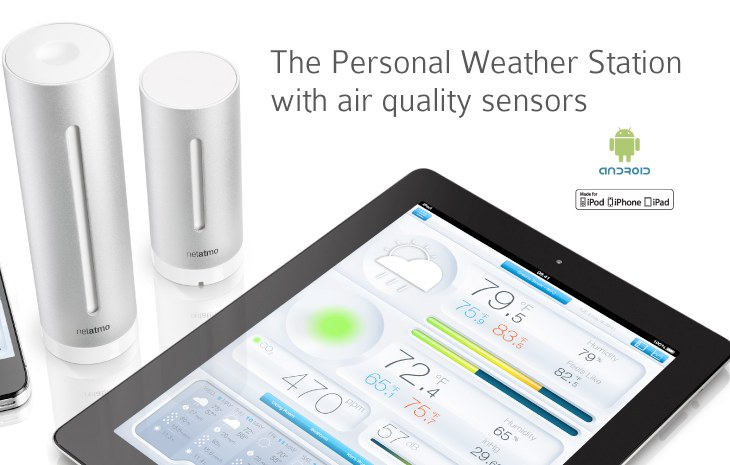 Netatmo Urban Weather Station in visual review