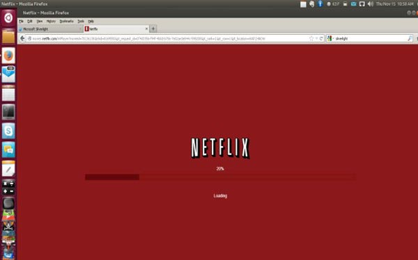 Netflix for Linux using Wine on 32-bit Ubuntu