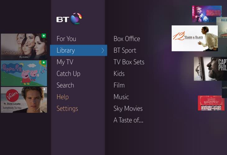 Netflix on BT YouView