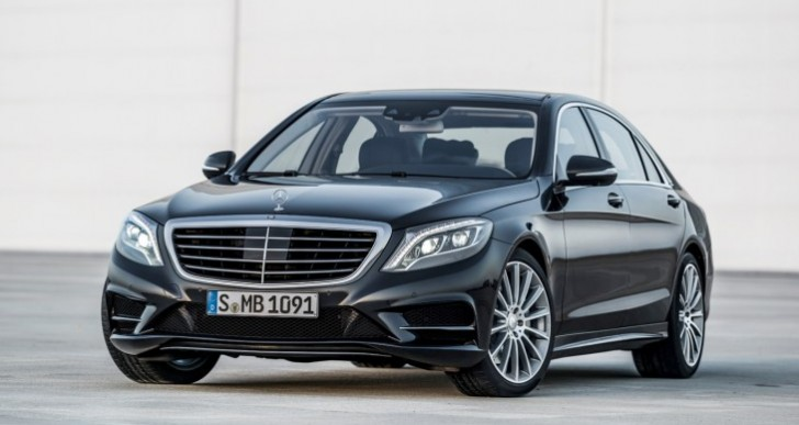 New 2014 Mercedes S-Class models include 5 variants