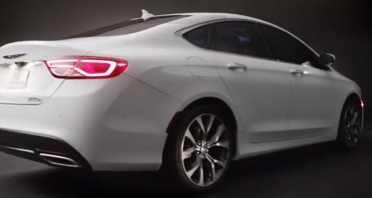 New 2015 Chrysler 200 commercial