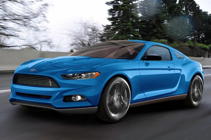 New 2015 Ford Mustang exterior design pics revealed