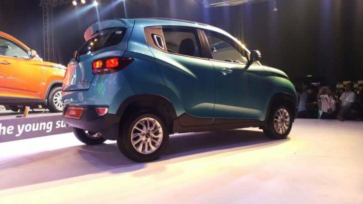 New 2016 Mahindra KUV100 price