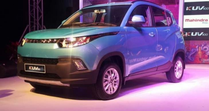 New 2016 Mahindra KUV100 review following car launch