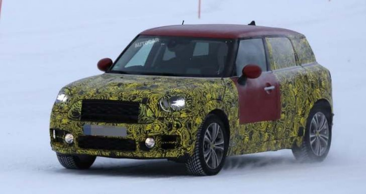 New 2016 Mini Countryman details divulged