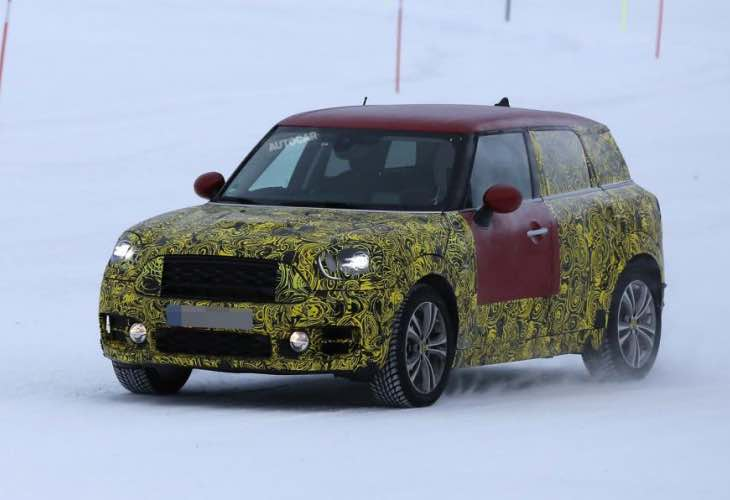New 2016 Mini Countryman all4 details divulged