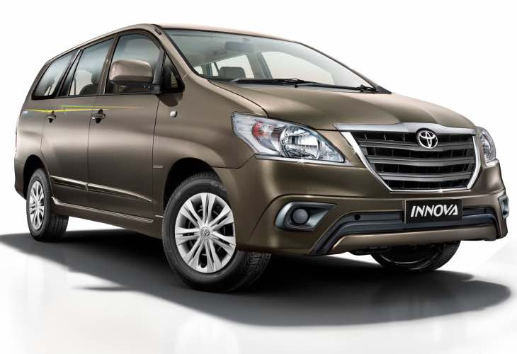 New 2016 Toyota Innova price in India