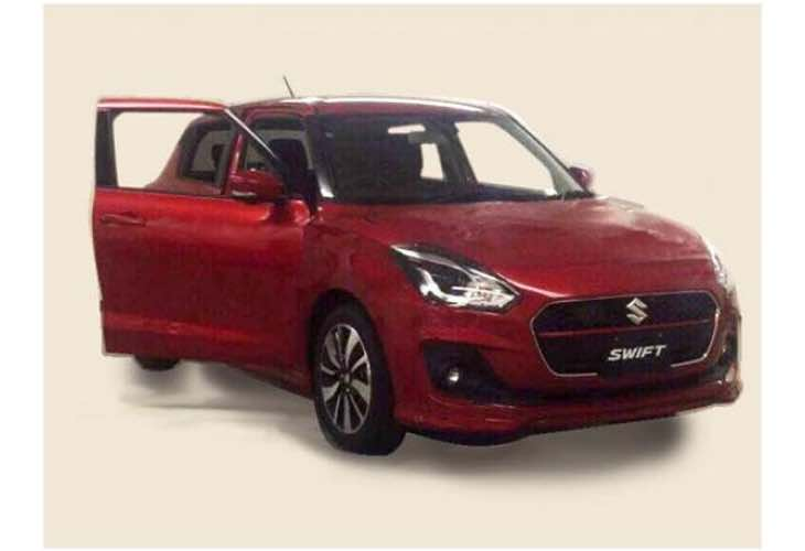 new-2017-maruti-suzuki-swift-production-design-has-mixed-reviews