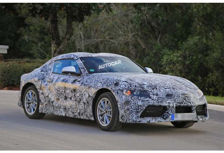 New 2017 Toyota Supra production model pictures reveals ...