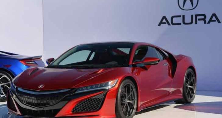 Acura NSX engine update details in Aug 2015