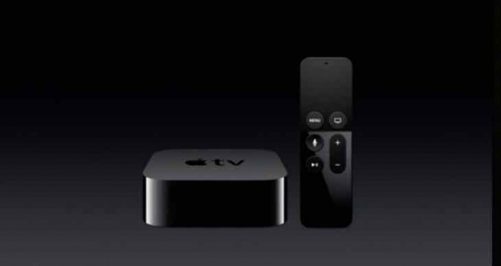 New Apple TV remote with Siri filter search