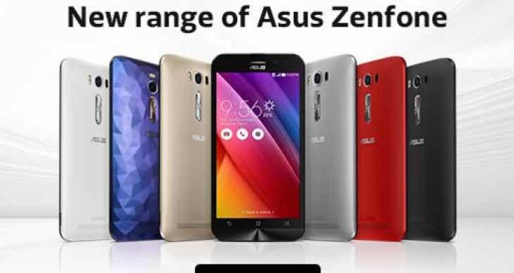 Asus Zenfone Selfie, Laser, Deluxe pre-order details