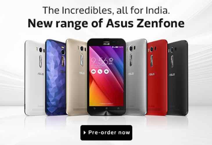 New Asus Zenfone range