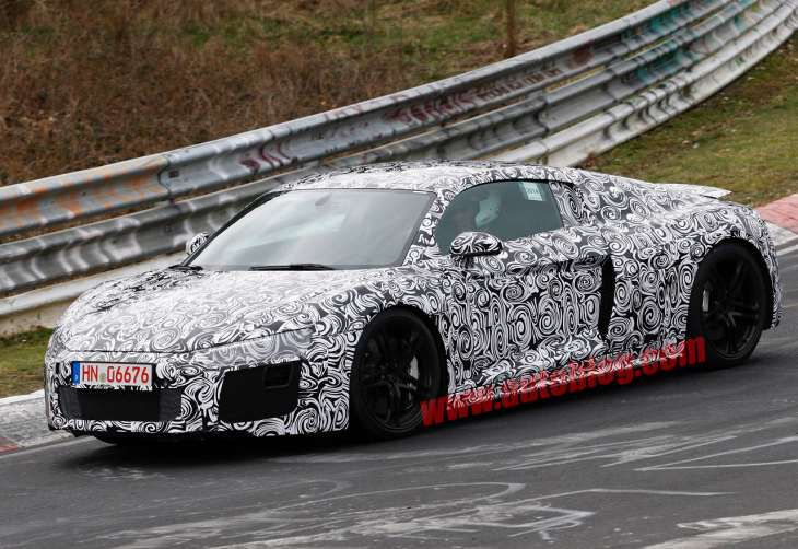 New Audi R8 scrounges 2015 TT design
