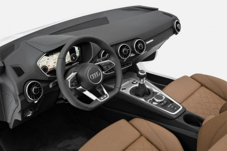 New Audi TT interior