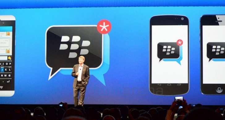 BBM reaffirmed on Android and iOS
