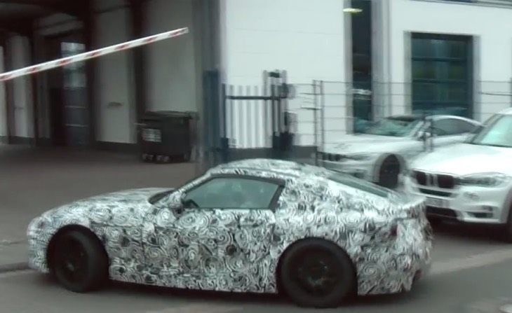 new-bmw-z5-video