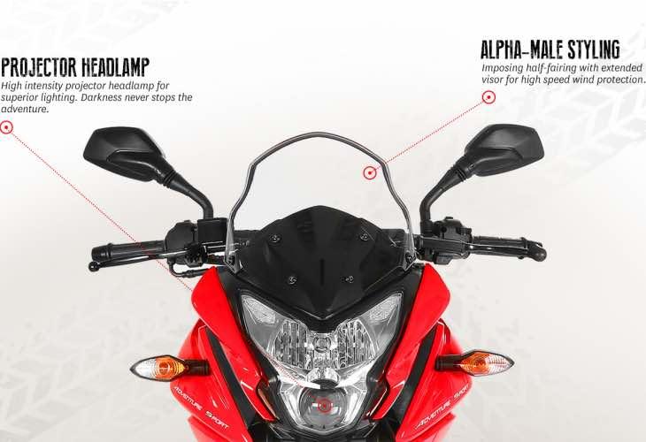 New Bajaj Pulsar AS motorcycles