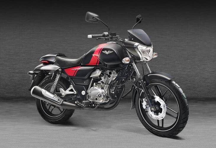 New Bajaj V bike price