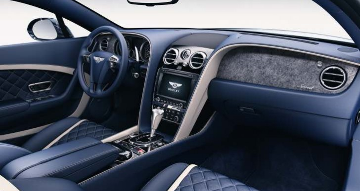 New Bentley Continental, Flying Spur Mulliner interior options