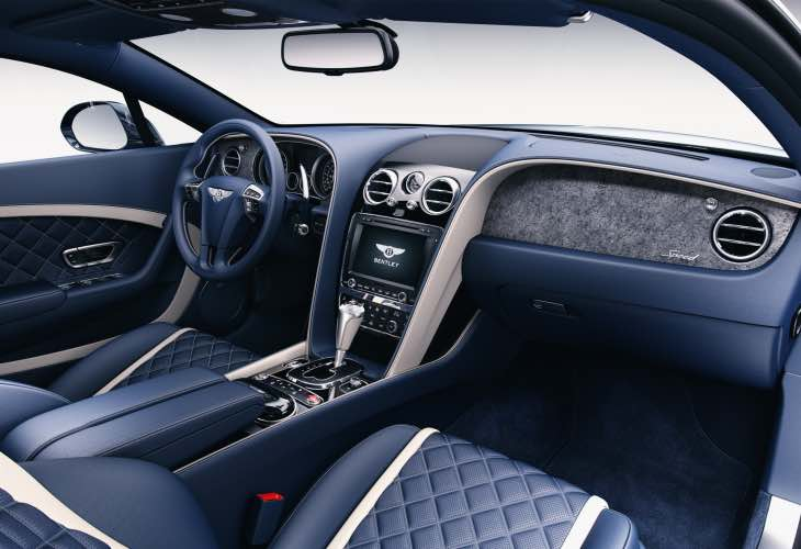 New Bentley Continental Mulliner interior options