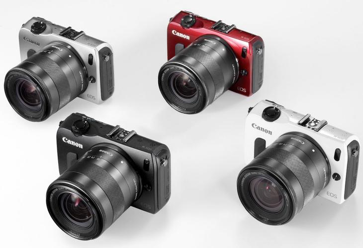 New Canon EOS M models and lenses committment
