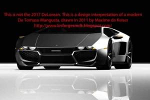 New DeLorean responds to inaccurate 2017 design claims