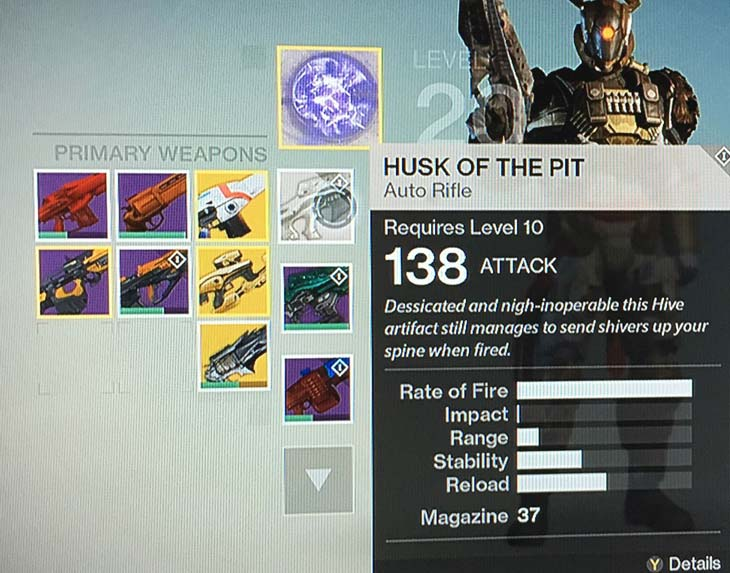 New-Destiny-Exotic-drop-with-Husk-of-the-Pit