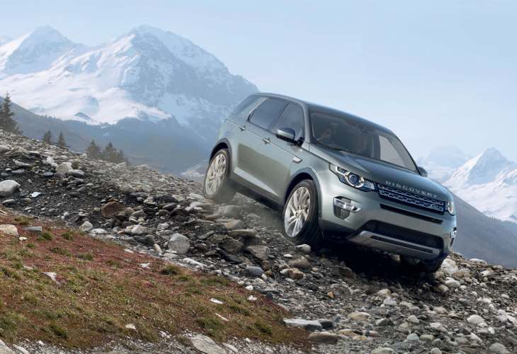 New Discovery Sport engine
