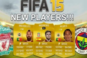 New FIFA 15 players Meireles, Alves and LFC's Alberto Moreno