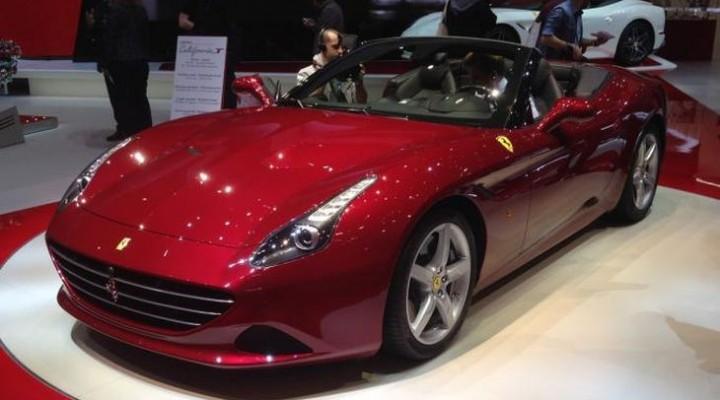 New Ferrari California T unveiled in Geneva