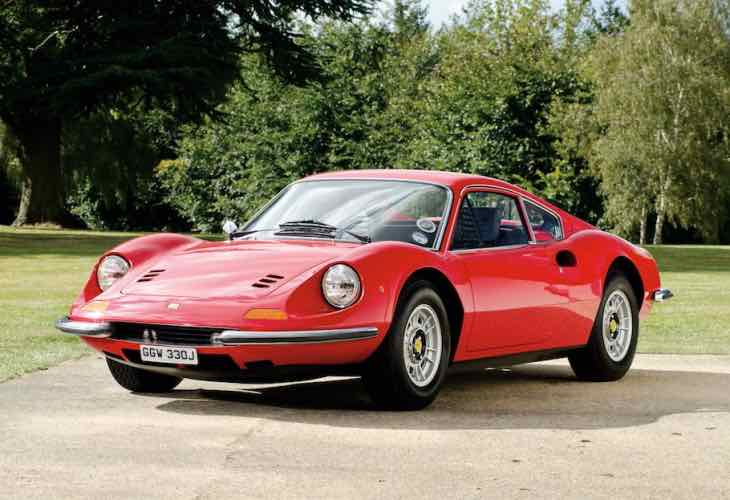 New Ferrari Dino price importance for exclusivity
