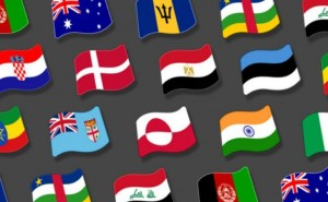 New flag emoji collection for Android 5.0 has limitations