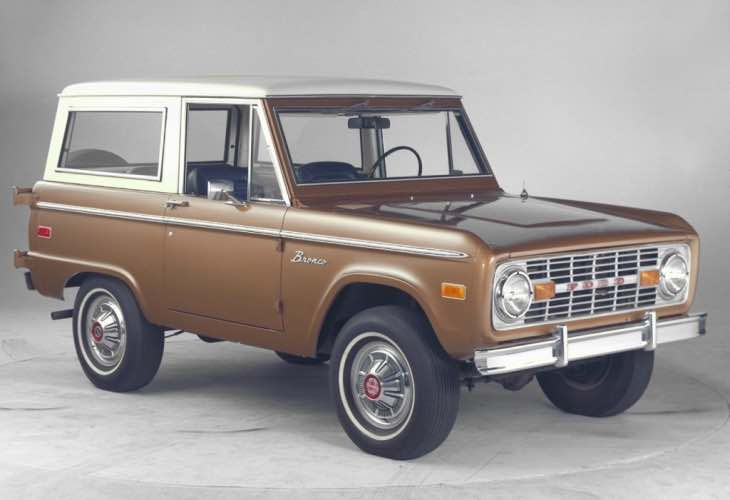 New Ford Bronco announcment