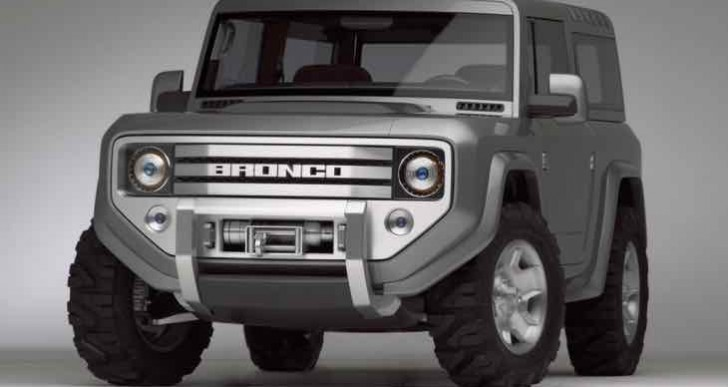 New Ford Bronco and Ranger production, not 2016 or 2017