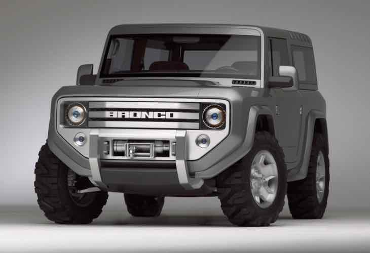 New Ford Bronco And Ranger Production Not 2016 Or 2017 Product