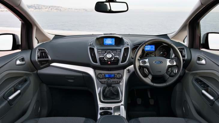 New Ford C-MAX Titanium interior