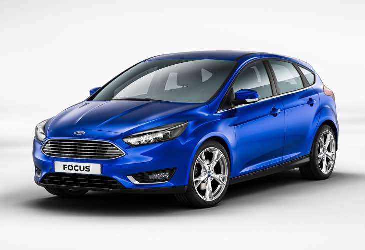 New Ford Focus Electric production
