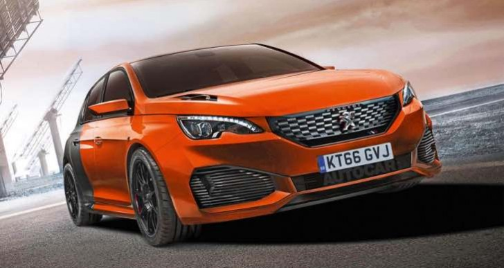 New Ford Focus RS rival with hybrid-electric Peugeot 308 R