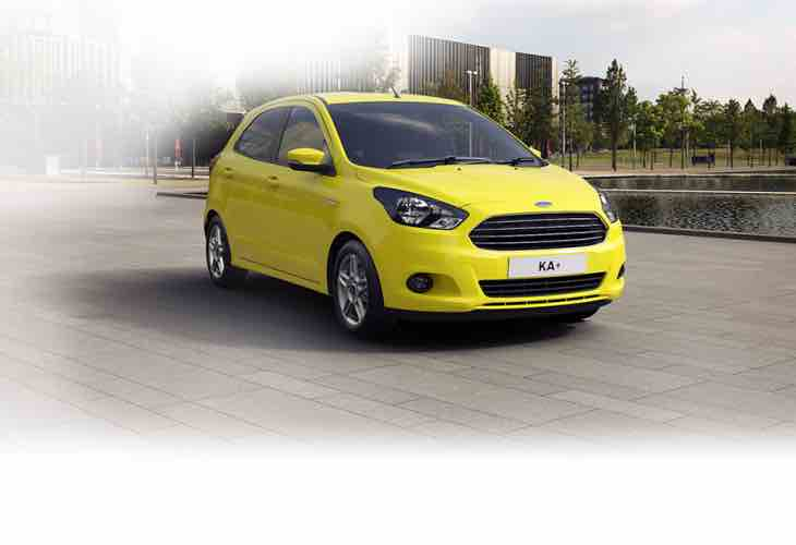 New Ford Ka Plus model