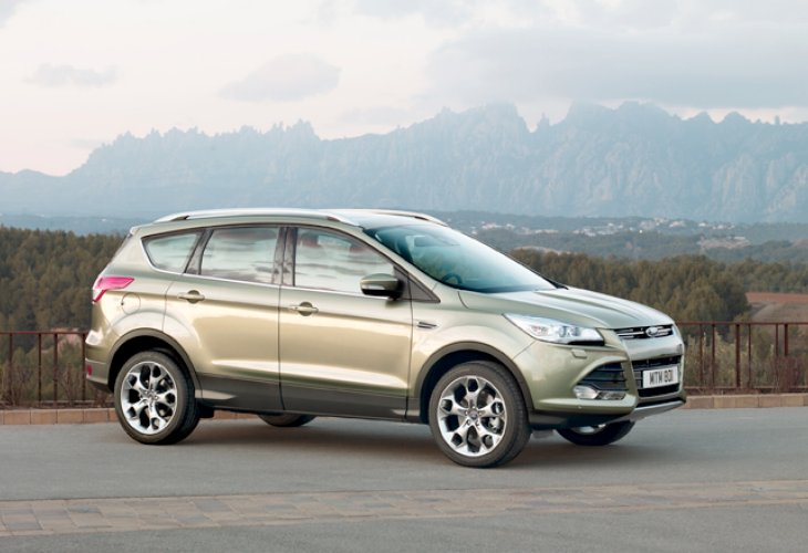 New Ford Kuga review, Titanium model