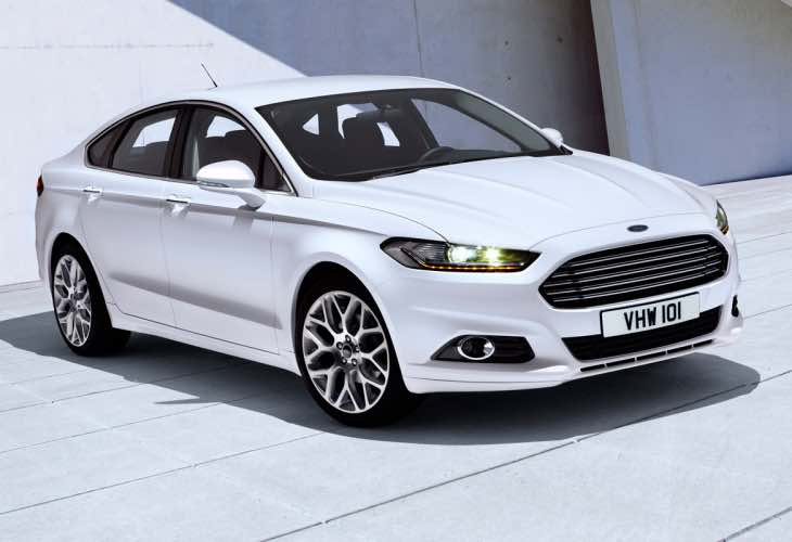 New Ford Mondeo depreciation forecast