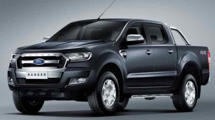 New Ford Ranger production